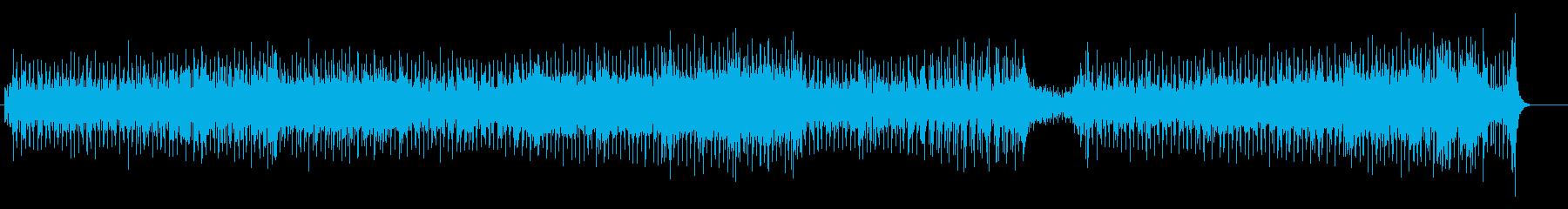 ゆったりと揺れるようなポップ・チューンの再生済みの波形
