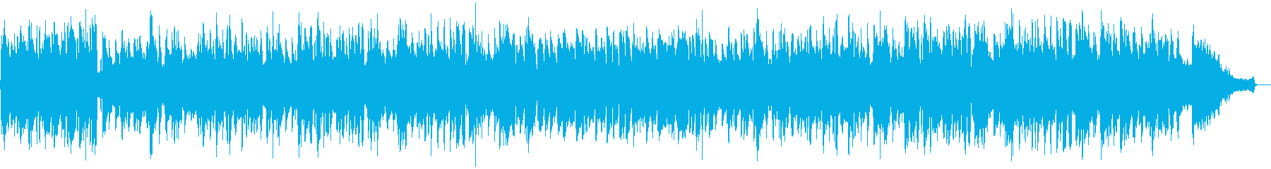 ピアニカとアコーディオンのおしゃれジャズの再生済みの波形