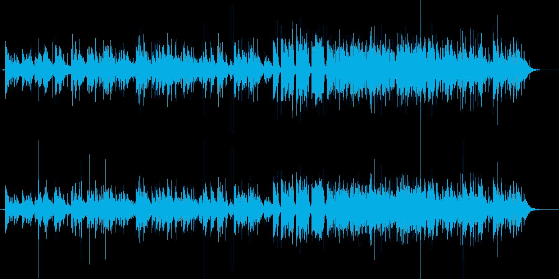 Pergolaの再生済みの波形