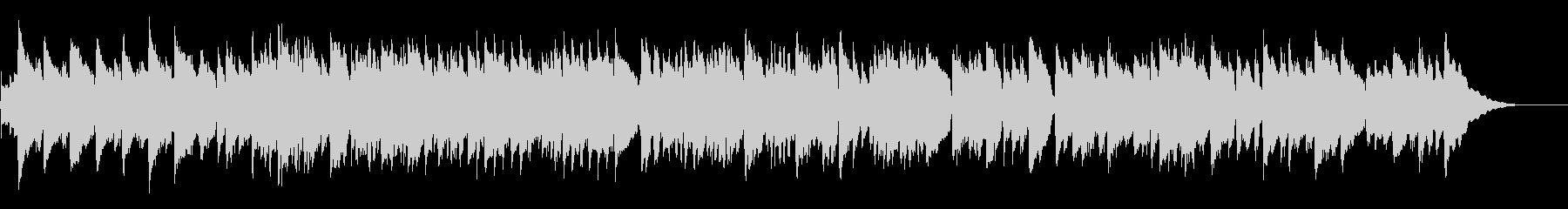 のどかなアイリッシュ音楽風アコギソロの未再生の波形