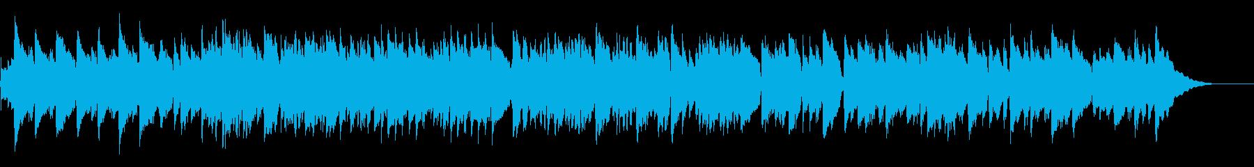 のどかなアイリッシュ音楽風アコギソロの再生済みの波形