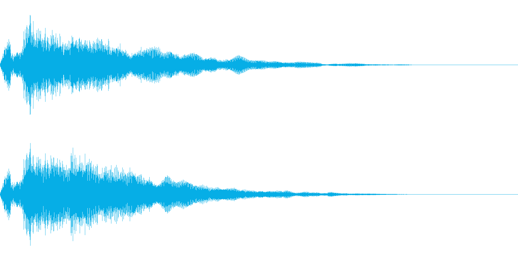 回復魔法/癒し/キラキラ/ヒーリングの再生済みの波形