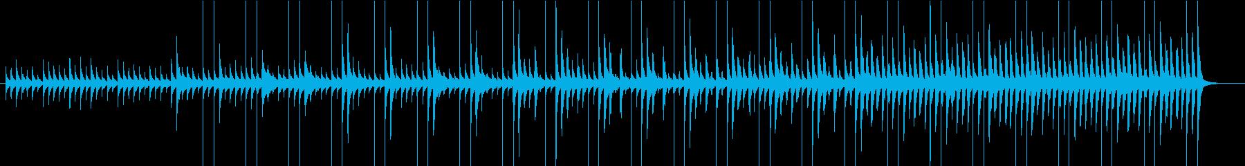 モダンで可愛いCMの再生済みの波形