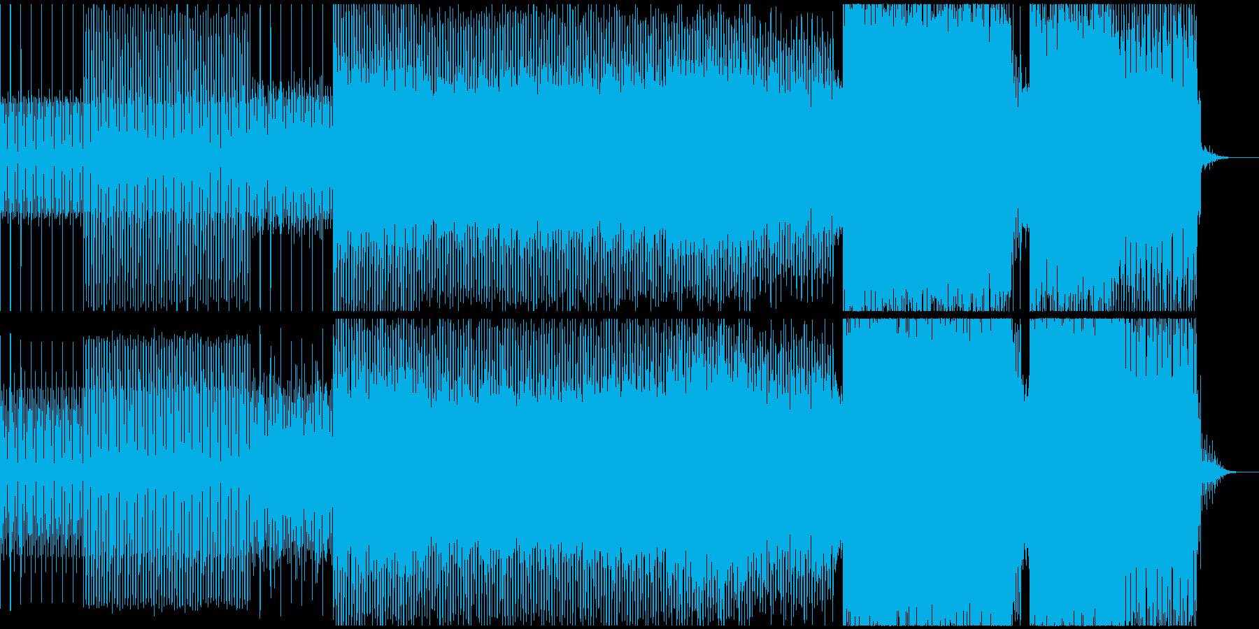 力強い(やや切ない)テクノサウンドの再生済みの波形
