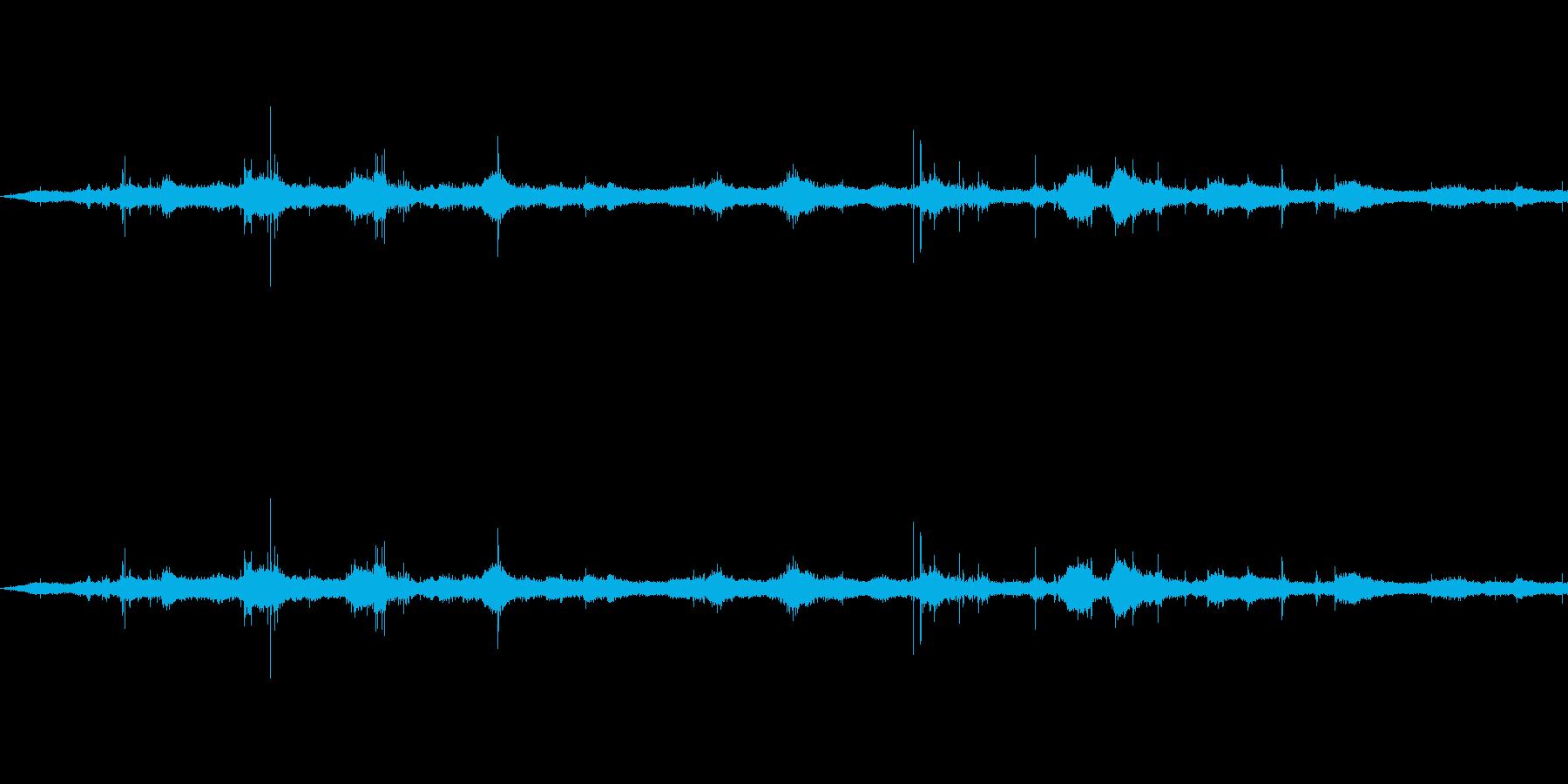 ウェーブ3の再生済みの波形