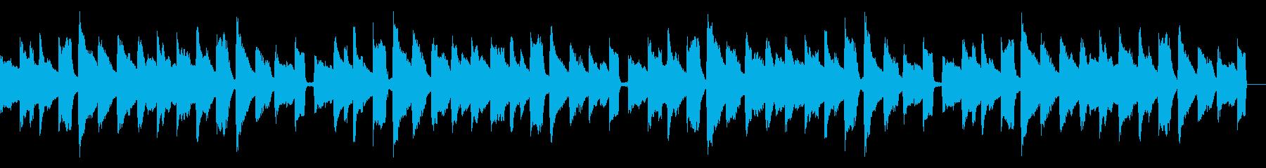 生音ギター-ほっこりと少し切ないバラードの再生済みの波形