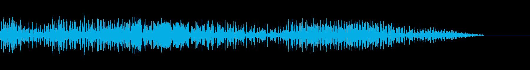 テクノロジーの再生済みの波形