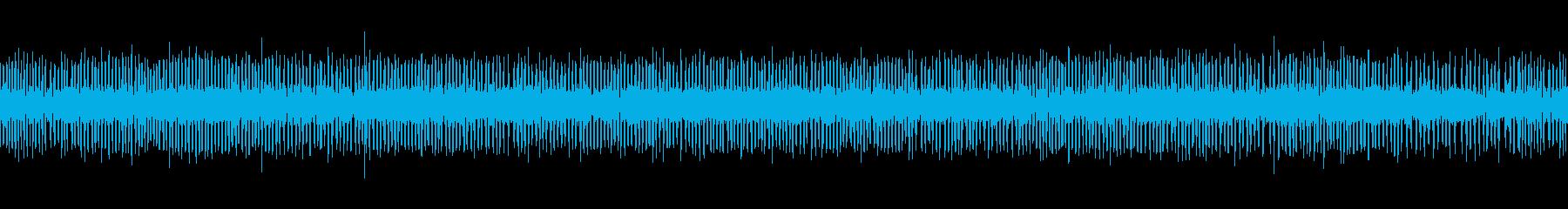 【環境音】夏の夜の虫の再生済みの波形