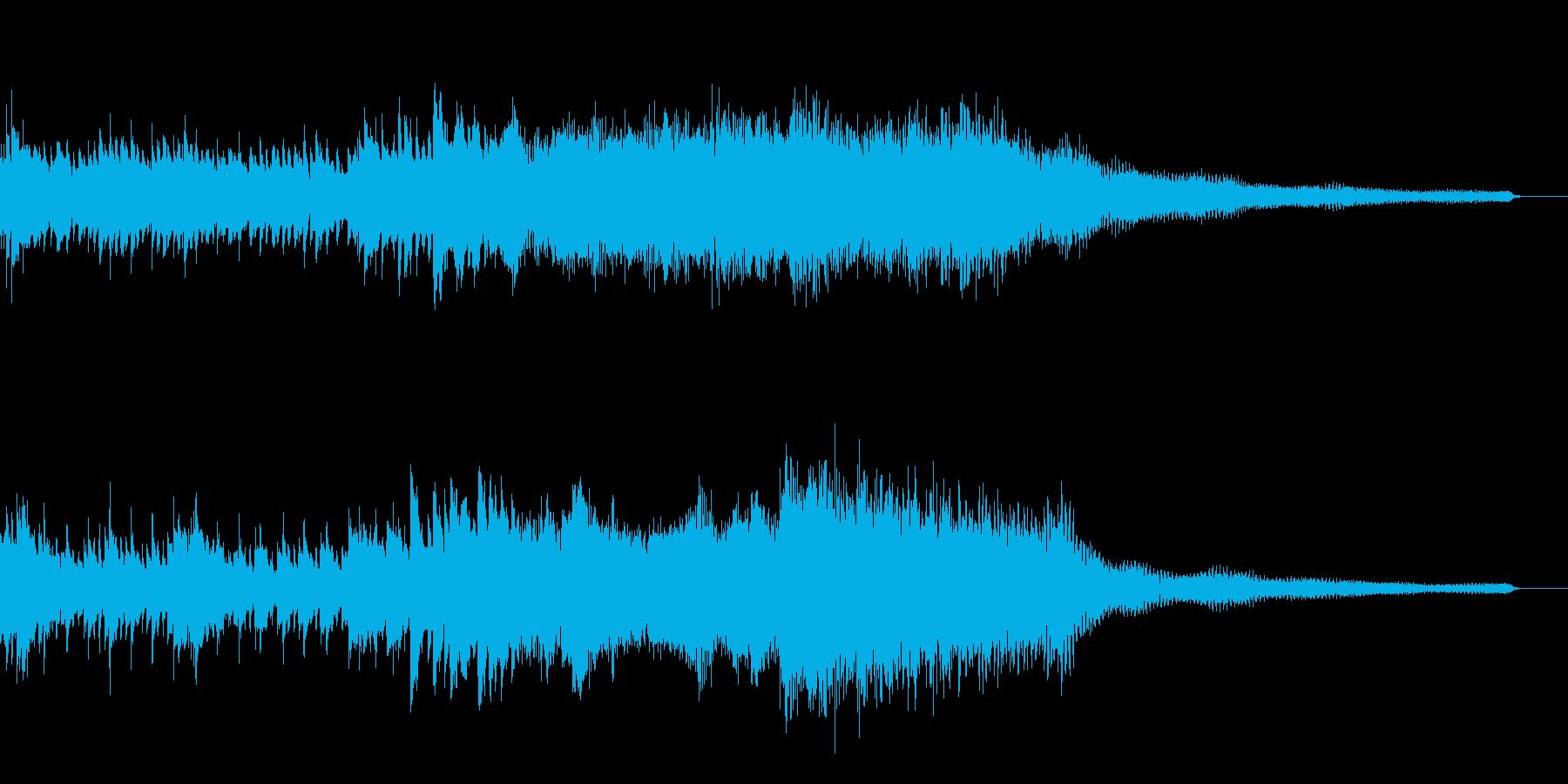 狂い溶ける和風ジングル31-ピアノソロの再生済みの波形