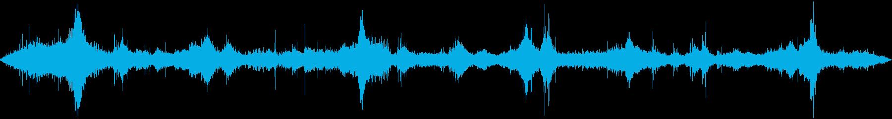 オーシャン:波がやってくる、ライト...の再生済みの波形
