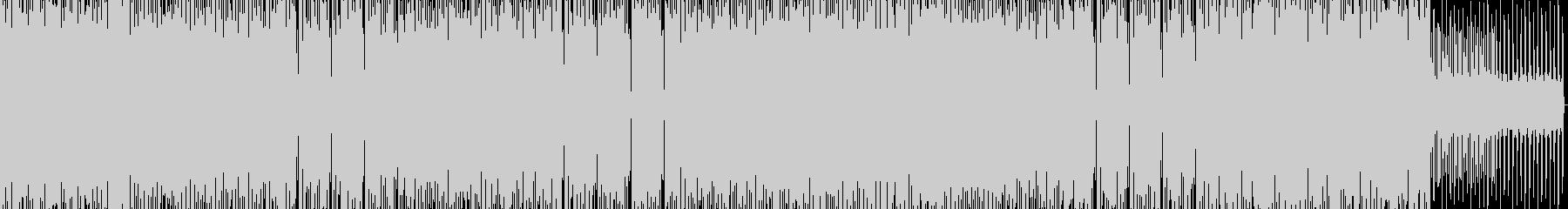 ラテンフレーバーのエレクトロシーケンスの未再生の波形