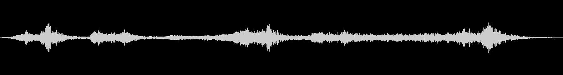 ソロ・クジラ・クライの未再生の波形