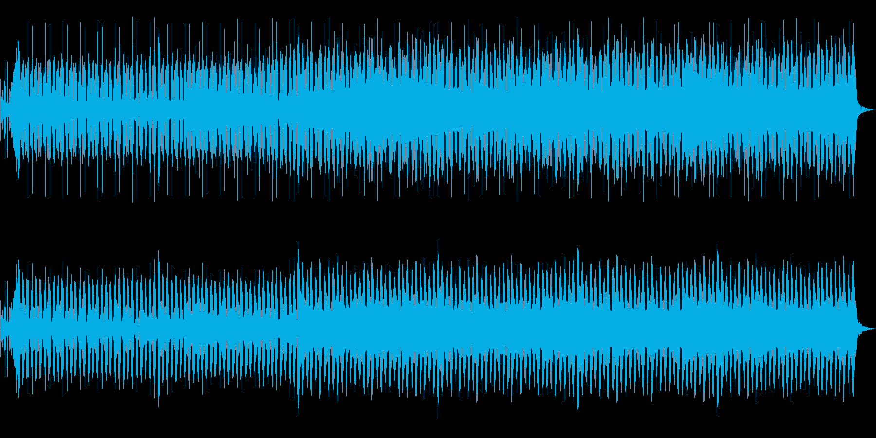 ハワイ等のリゾートをイメージして作った…の再生済みの波形