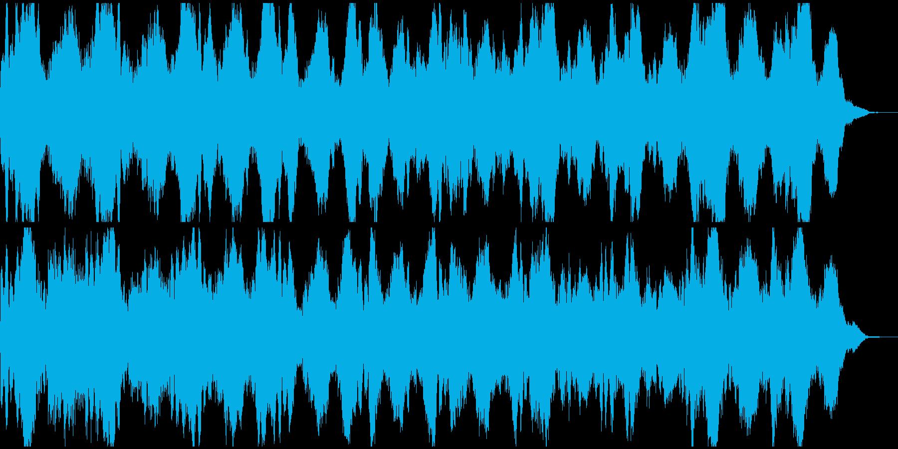 宇宙をイメージしたアンビエントです。の再生済みの波形
