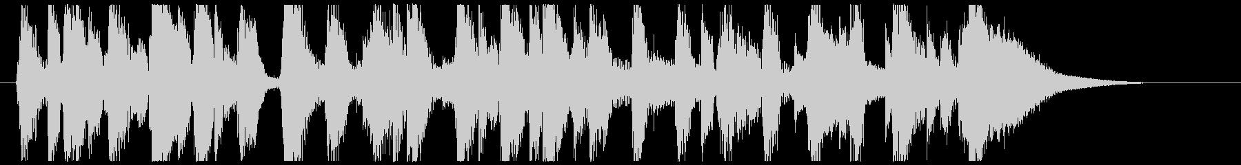 カントリージャズ 15秒サイズの未再生の波形