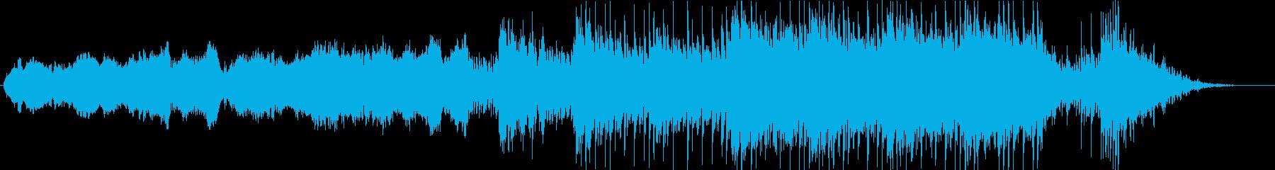 映画/エピック/宇宙/ビッグバン/爆発の再生済みの波形