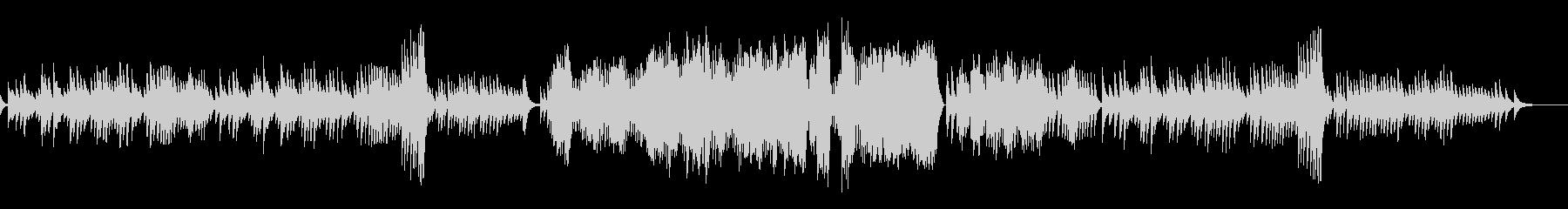 エチュード 作品10-3オルゴールverの未再生の波形