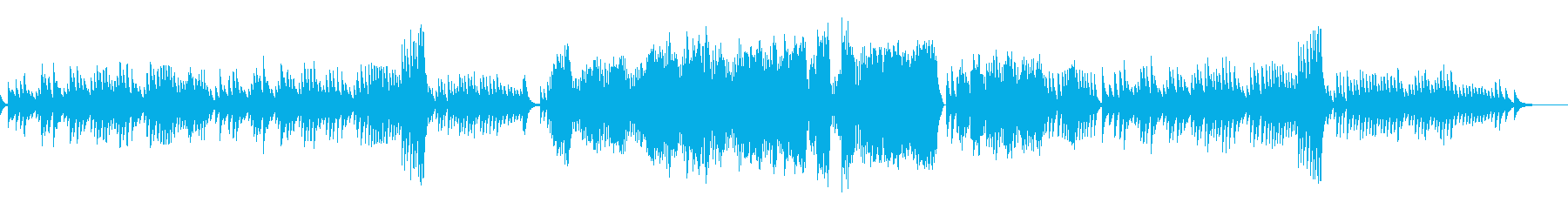 エチュード 作品10-3オルゴールverの再生済みの波形