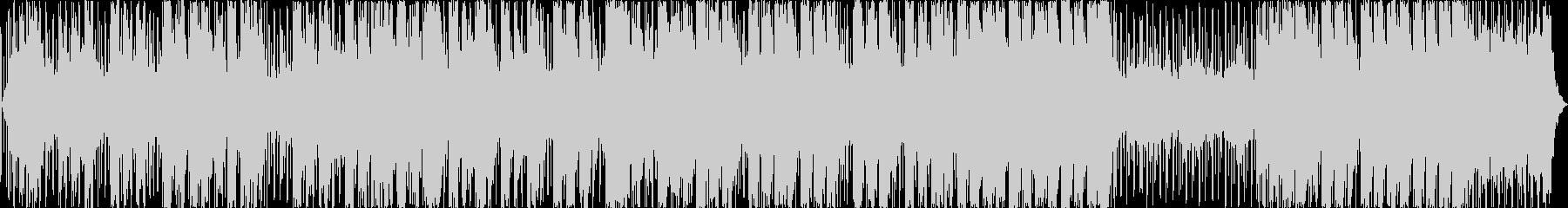 シーケンス 電子グリッチビート02の未再生の波形