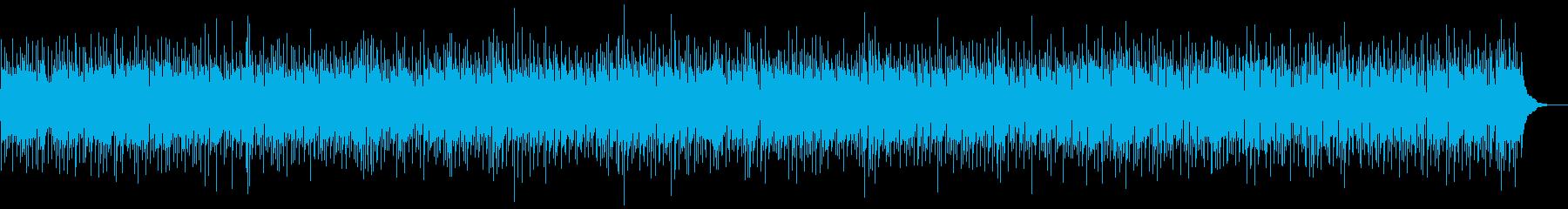 ほのぼのとしたカントリー調バラードの再生済みの波形