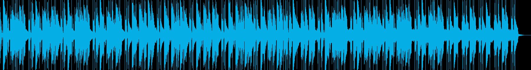 お洒落な落ち着いたチルアウト ギター演奏の再生済みの波形