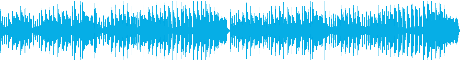 不思議な場面、昭和アニメっぽい※ループ版の再生済みの波形