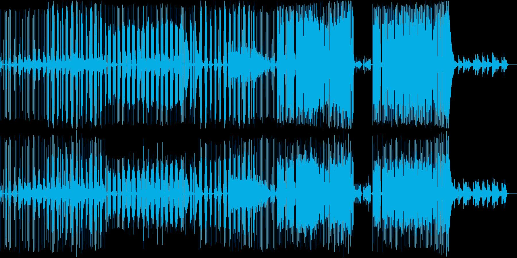 切ないエレピとギターのミドルテンポの再生済みの波形
