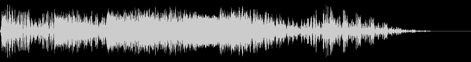 フォトンボンバードメントの未再生の波形