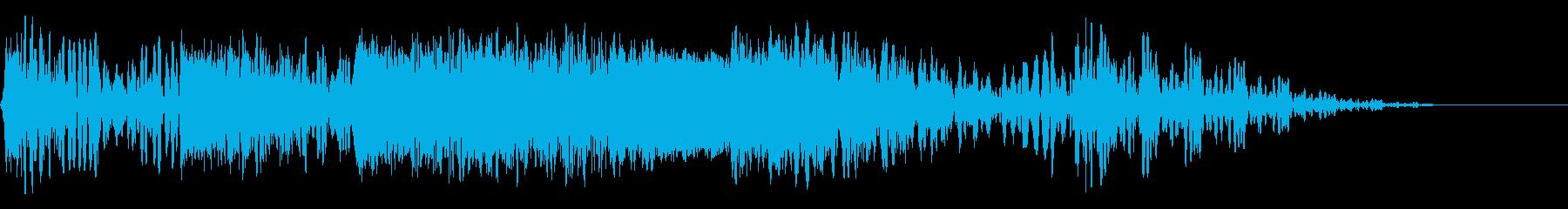 フォトンボンバードメントの再生済みの波形