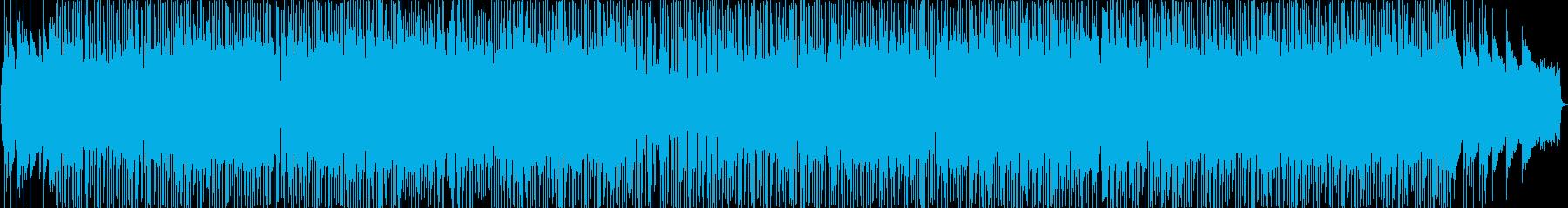 オルガンが印象的なファンキーなJpopの再生済みの波形