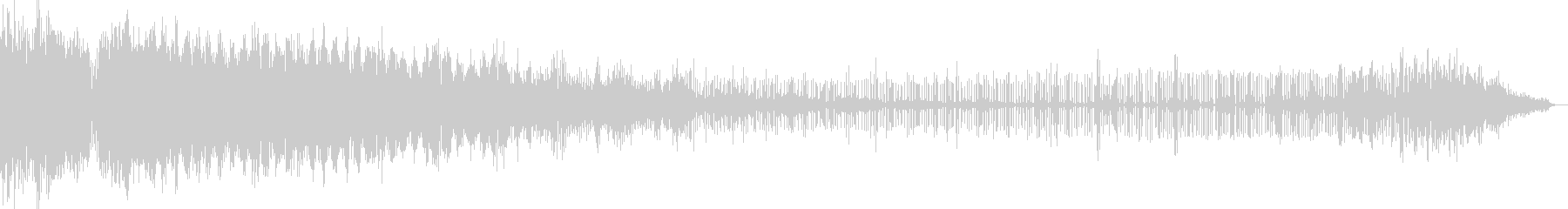 【電子音】 SF デジタルFX 15の未再生の波形