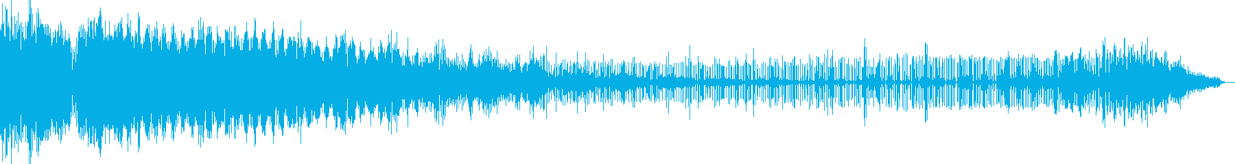 【電子音】 SF デジタルFX 15の再生済みの波形