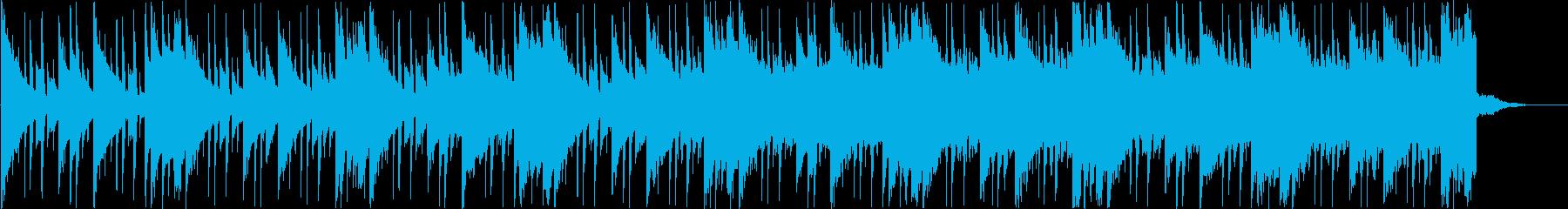 切ないR&B ジングル BGM の再生済みの波形