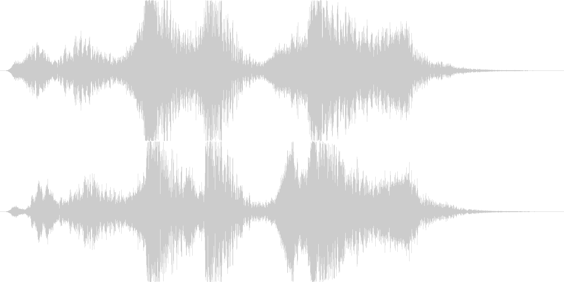 スペル 邪悪な闇01の未再生の波形