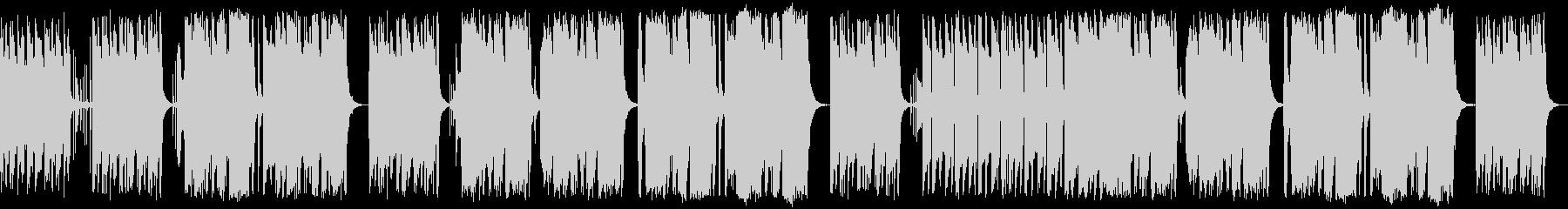 暗闇に潜む怪しい影 間抜けな泥棒のBGMの未再生の波形
