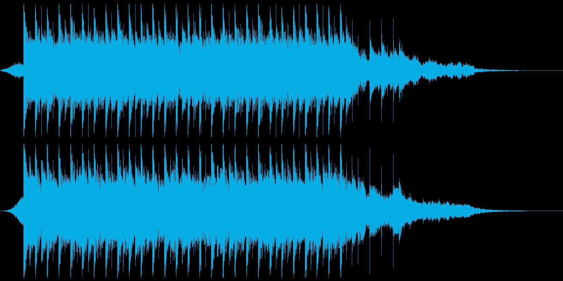 ポジティブになる(短)の再生済みの波形