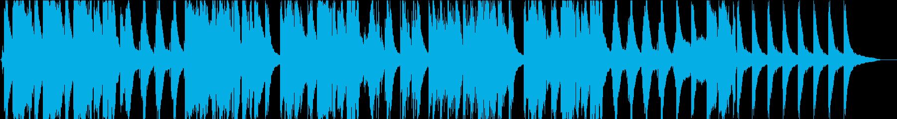 女性コーラスとピアノの切ないバラードの再生済みの波形