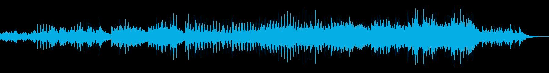 心落ち着く穏やかなピアノメロディーの再生済みの波形