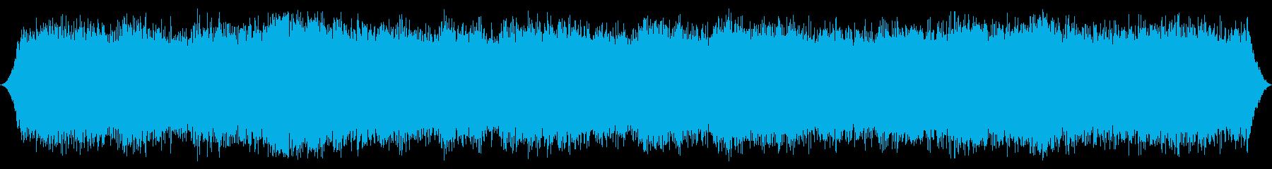 ミディアムウィンド:細いガスティン...の再生済みの波形