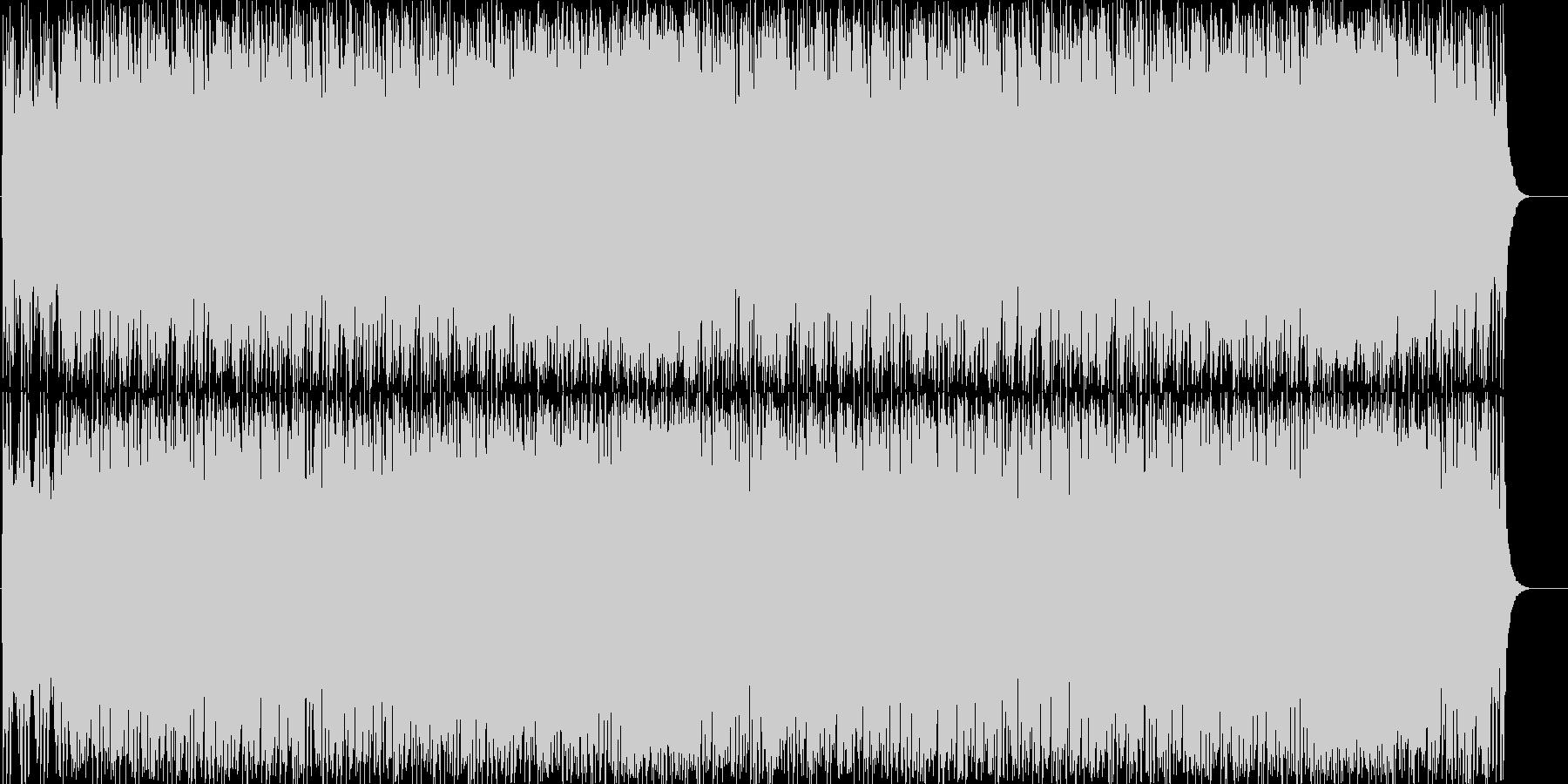 ノリノリのユーロビート。の未再生の波形