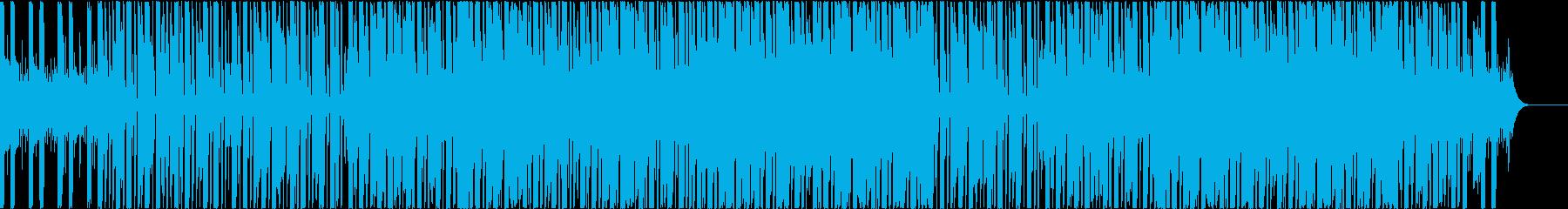 爽やかでスタイリッシュなヒップホップの再生済みの波形