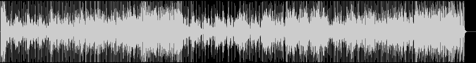 おしゃれなジャズフュージョンBGMの未再生の波形