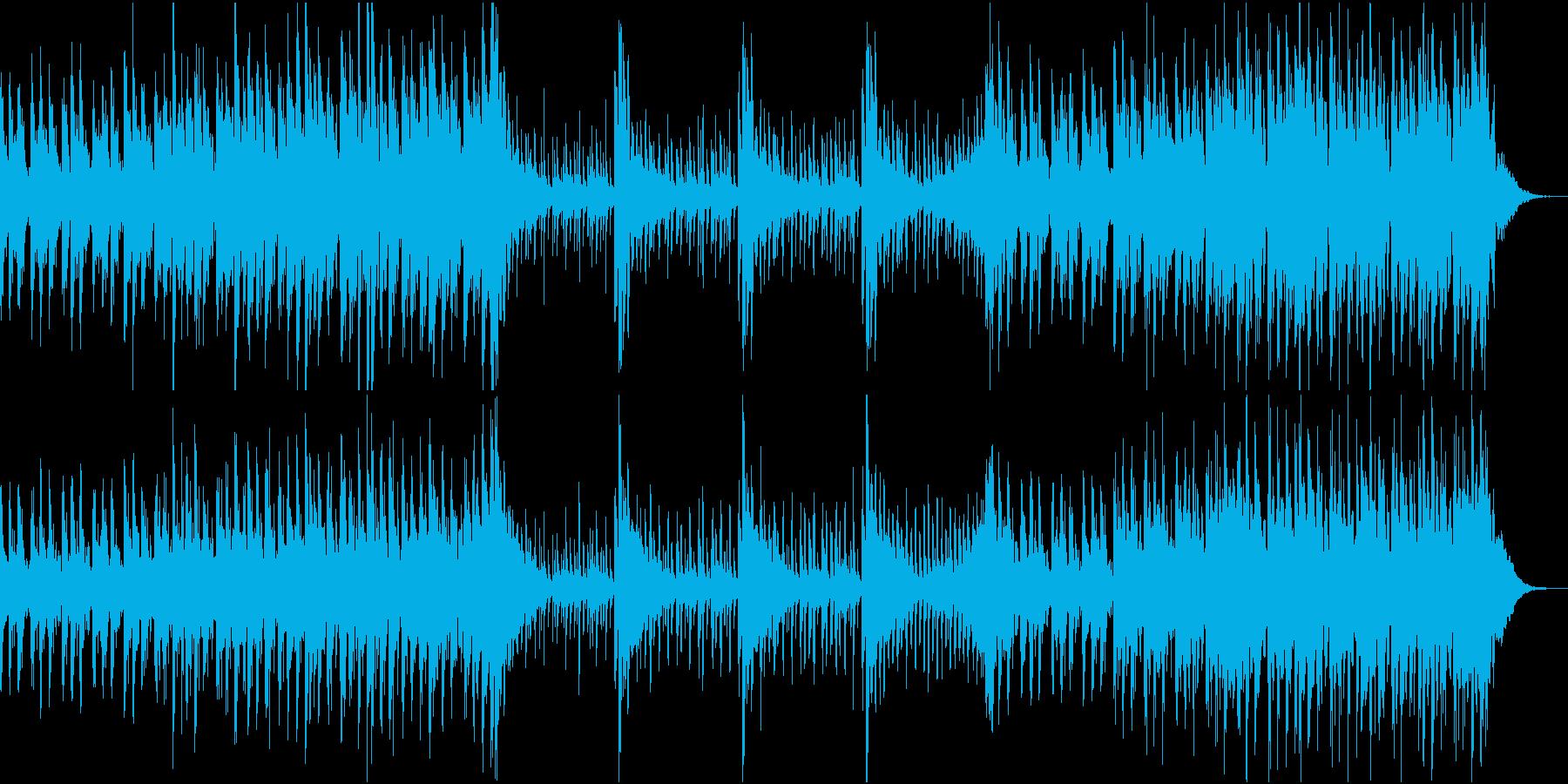 勇壮なEpic系変拍子ドラムアンサンブルの再生済みの波形