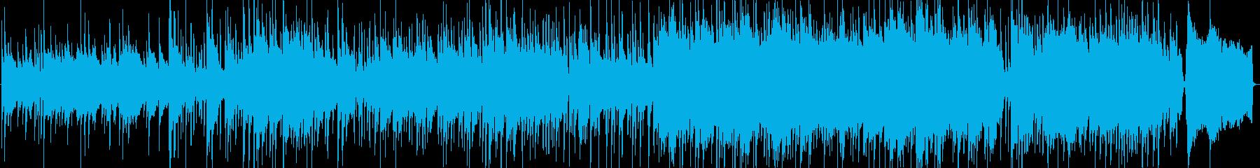 ほのぼのとしたアコースティック曲ですの再生済みの波形