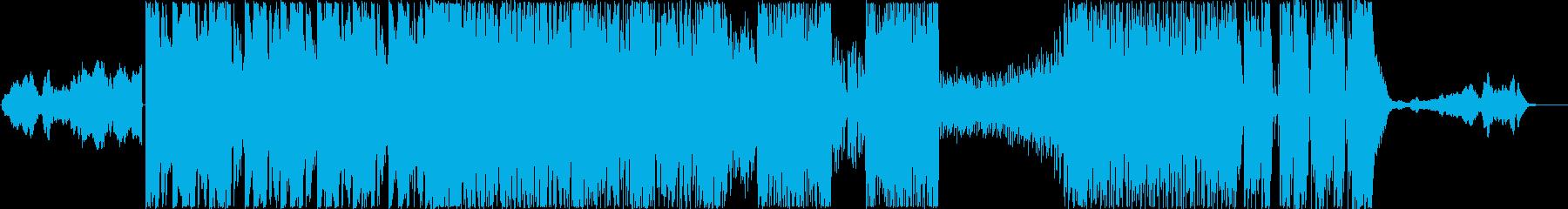 バトルラウンドBGMの再生済みの波形