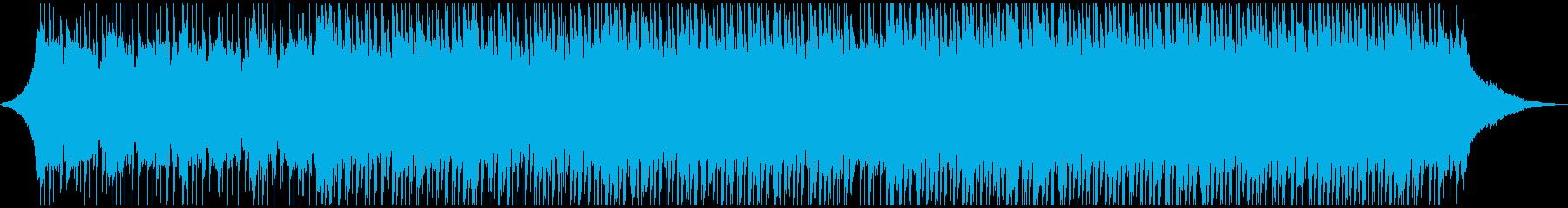 やる気を起こさせる感情(90秒)の再生済みの波形