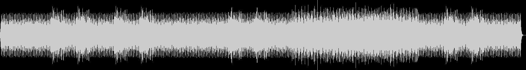 シュールで奇妙な短調メロディの未再生の波形