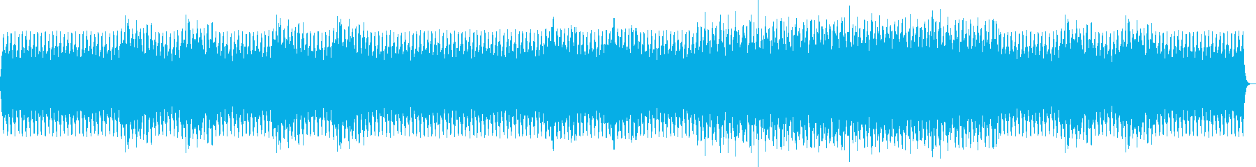 Surreal minor tone melody's reproduced waveform