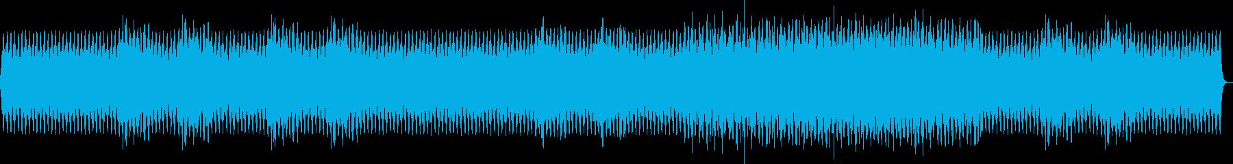 シュールで奇妙な短調メロディの再生済みの波形