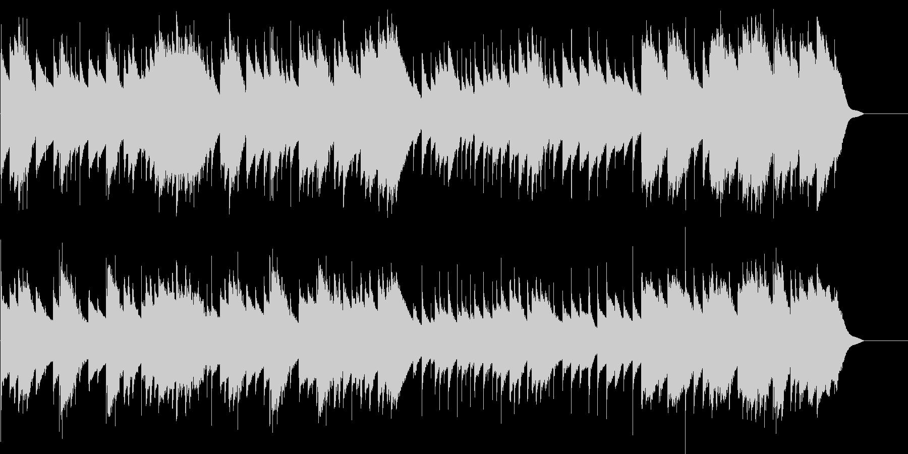 メヌエット ト長調(オルゴール)の未再生の波形